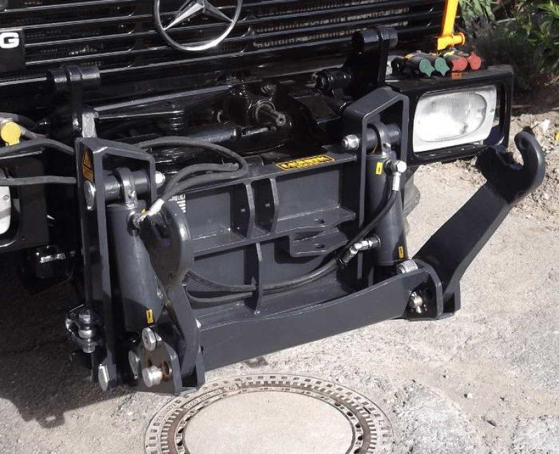 celna prednja sprednja hidravlika dvigalo na komunalno hitrovpenjalno plosco unimog mb trac lindner reform muli shl pu traktor 13 lesnik lenart min