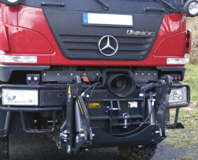 celna prednja sprednja hidravlika dvigalo na komunalno hitrovpenjalno plosco unimog mb trac lindner reform muli shl pu traktor 5 lesnik lenart min
