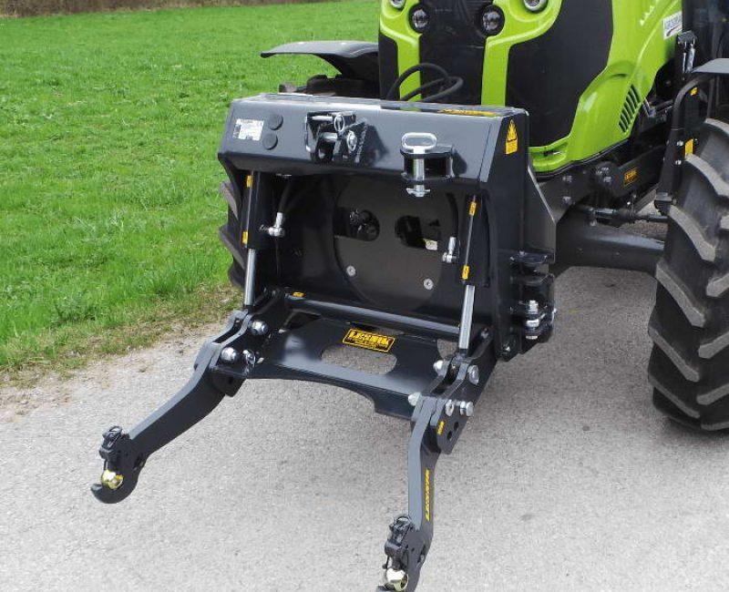 celna prednja sprednja hidravlika dvigalo na komunalno hitrovpenjalno plosco unimog shl p traktor new holland lesnik lenart min