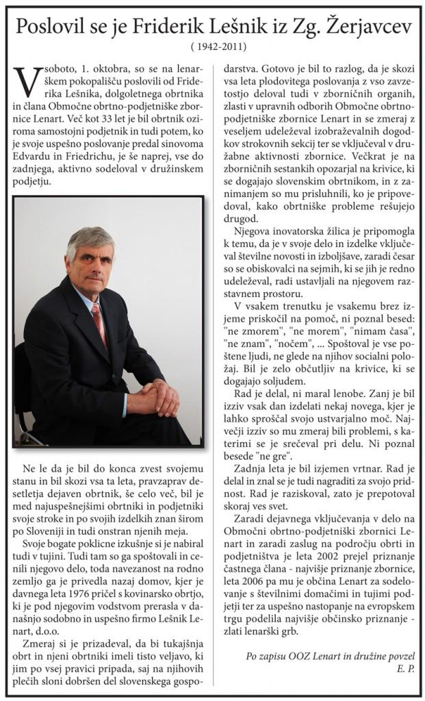 ovtarjeve novice oktober 2011