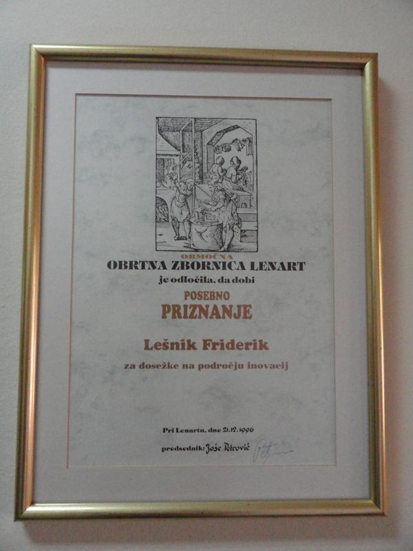 priznanja auszeichnungen friderik lesnik dsc04532