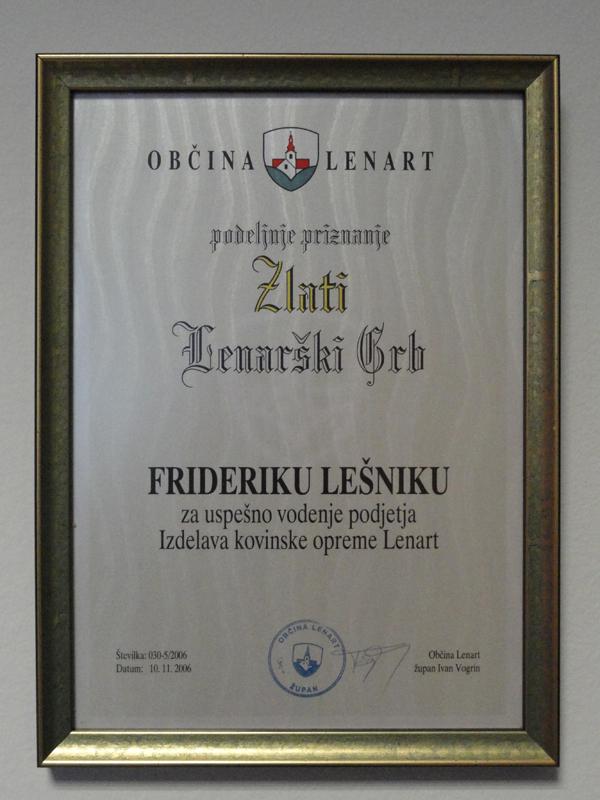 priznanja auszeichnungen friderik lesnik dsc04543