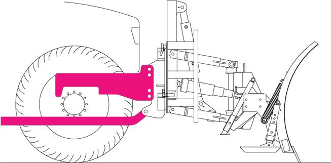 montaza komunalne plosce za snezni plug lesnik